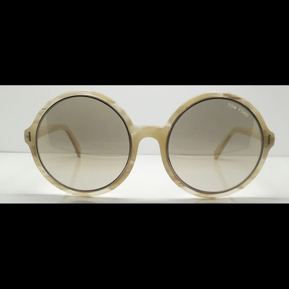 622e9c8a9a88 New Tom Ford TF268 White Round Sunglasses Frames.  M 5b1b5a35f63eea39be570ebf. Other Accessories ...
